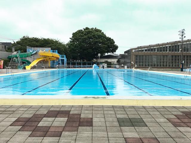 【屋外】50メートルプール
